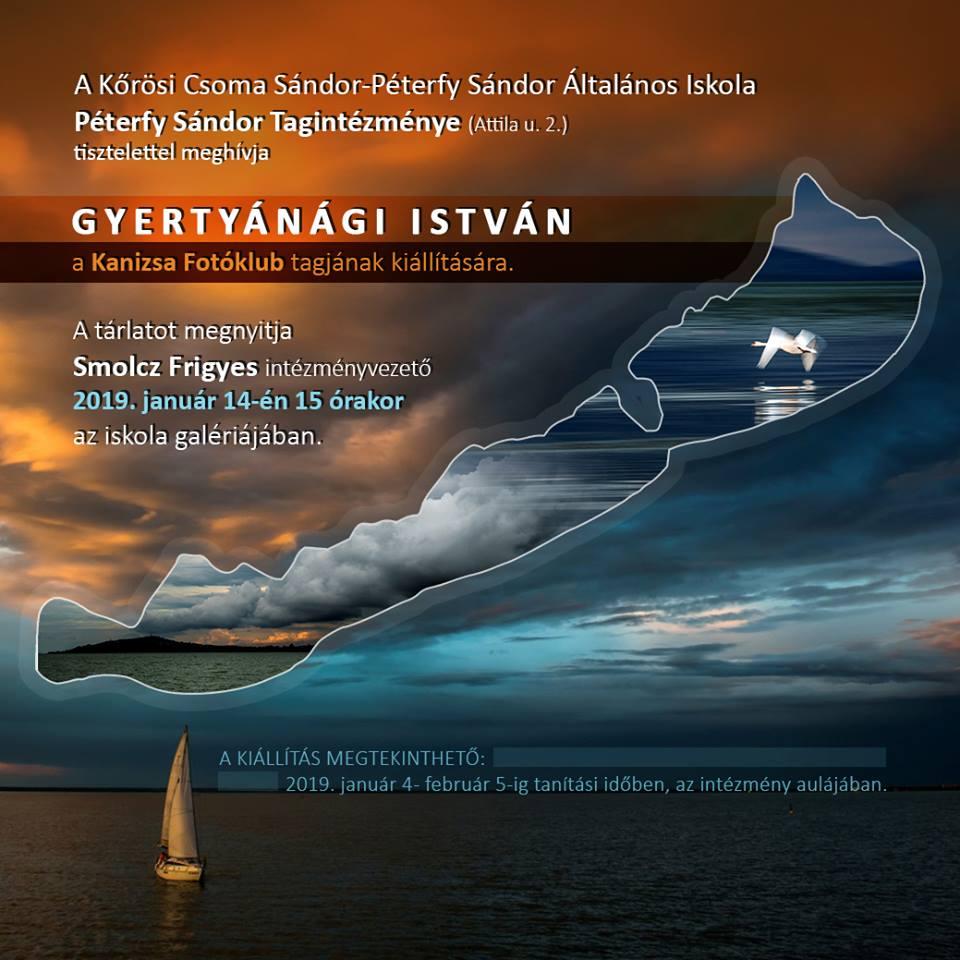 Gyertyánági István kiállítása