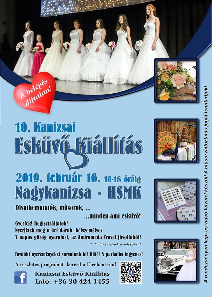 X. kanizsai esküvő kiállítás