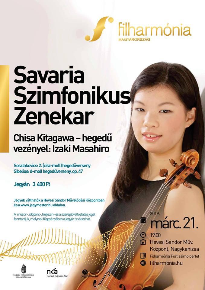 Savaria Szimfonikus Zenekar fellépése
