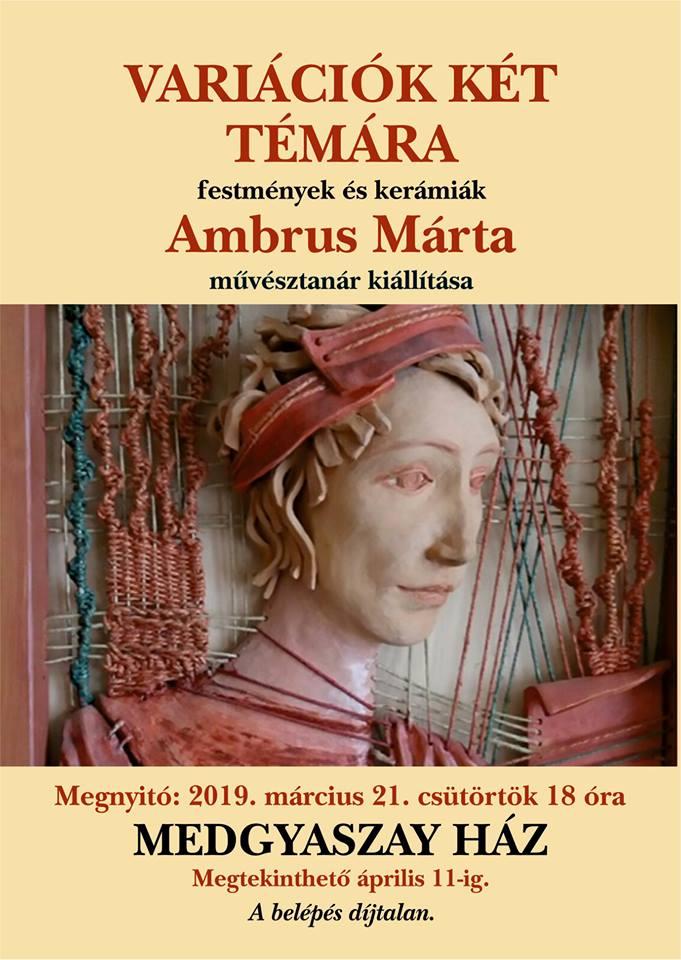 Variációk két témára - festmény és kerámia kiállítás