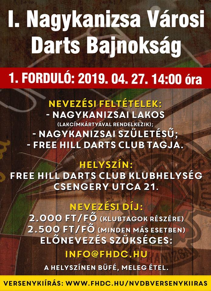 I. Városi Darts Bajnokság