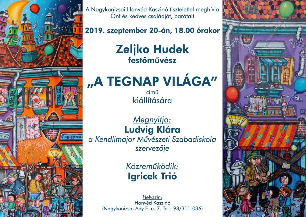 Zeljko Hudek festménykiállítása
