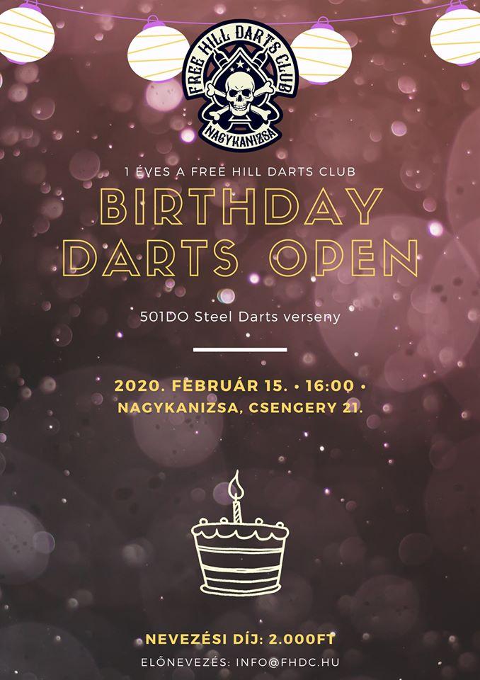 Születésnapi darts
