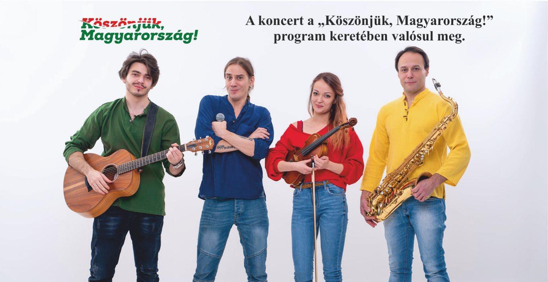 Kiflihajó Zenekar koncertje