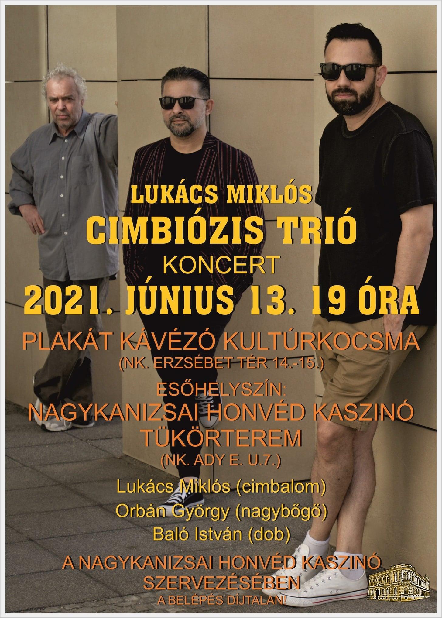 Lukács Miklós Cimbiózis Trió