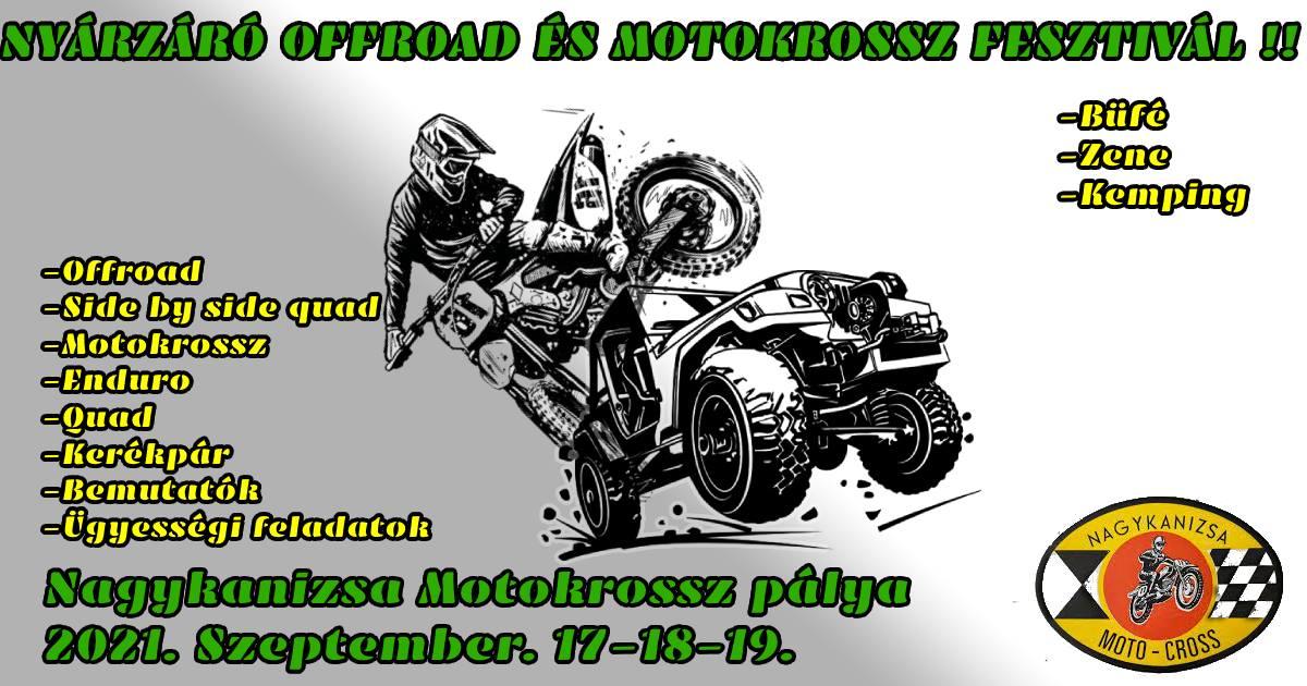 I. Nyárzáró Offroad és Motocross fesztivál