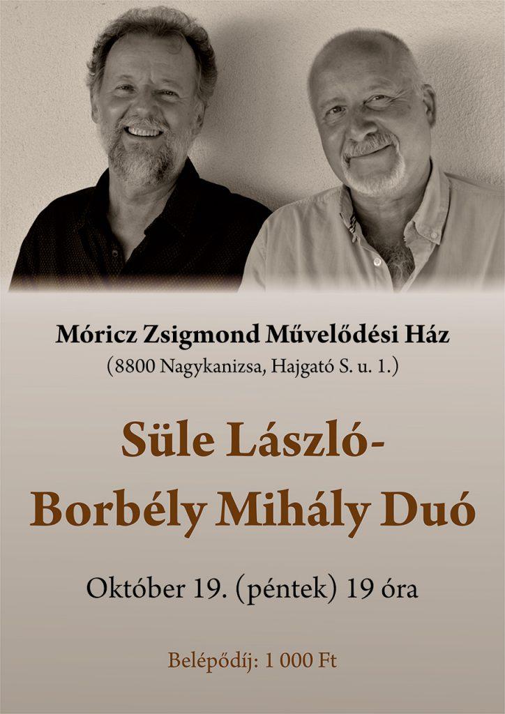 Süle László – Borbély Mihály duó fellépése