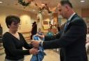 Munkaruhákat ajándékozott a kanizsai kórháznak a Zalakarosi Fürdő