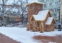 Visszaköszönt a tél ma Nagykanizsán is