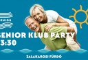 Senior Club Party