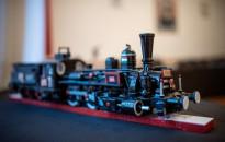 Fából vasparipa - mozdonyszobrok kiállítása, fotó: Gergely Szilárd