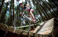 250 hegyikerékpáros versenyzett a Csónakázó-tónál, fotó: Gergely Szilárd