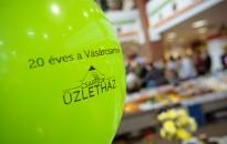 Húszéves a vásárcsarnok, fotó: Gergely Szilárd