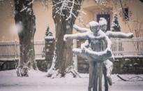 Leesett az első hó, fotó: Jancsi László