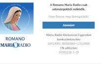 Online cigány Mária Rádió indul