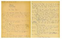 Több mint húszmillió forintért kelt el Fekete István Tüskevár című regényének eredeti kézirata