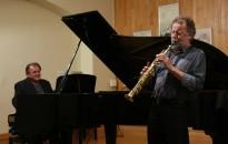 A Binder-Borbély duó nagy sikerű koncertje