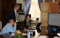 """""""Digitális Nyílt Nap"""" a Zalaegerszegi Törvényszéken: a """"Robotzsaru"""" is bemutatkozott"""