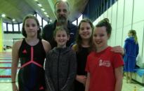 Nemzetközi versenyen is bizonyítottak a Délzalai Vízmű SE úszói