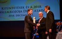Nagykanizsai vállalkozót is kitüntetett a VOSZ