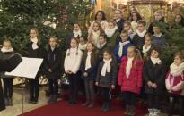Karácsonyi hangversenyt tartott tegnap a Zrínyi-iskola