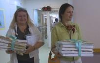 Gyermekágyneműt adományozott a Kanizsa Rehab Nonprofit Kft. a Kanizsai Dorottya Kórháznak