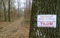 Vigyázat! Szombaton vadászat lesz a Csónakázó-tó környéki erdőkben!