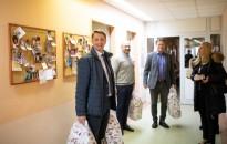 Cseresnyés Péter karácsonyi látogatása a Kanizsai Dorottya Kórházban