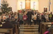 A gyermekek karácsonyát tartotta december 24-én a nagykanizsai református gyülekezet