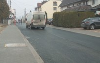 Folytatódnak az útfelújítási munkálatok a belvárosban