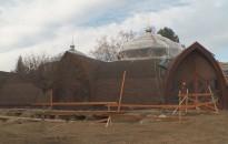 Jó ütemben halad a Zalakarosi Fürdő felújítása