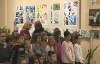 Megnyílt az év első kiállítása a Hevesi-iskolában