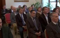 A nagyrécsei Inkey-kastélyban köszöntötték az új évet a térség településeinek vezetői