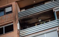 Kilencedik emeleti lakás szobája égett Kanizsán