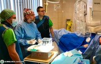 Új módszerrel gyógyítják a májdaganatot a Radiológiai Klinikán