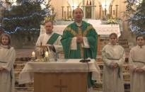 Óvodásoknak tartottak szentmisét a Felsőtemplomban