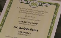 Cserhátis sikerek a PENdroidon