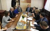 A zalai bíróságokat látogatta meg február elején Handó Tünde, az OBH elnöke