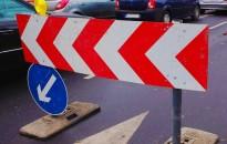 Hétfőtől félpályás útlezárás lesz a Csengery úton a Zrínyi utcai kereszteződésben