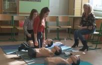 Az egészség jegyében telt a nap a Zsigmondy-középiskolában