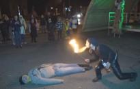 Elégették a kiszebábot Letenyén