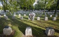A felújitott I. világháborús hősi temető Nagykanizsán