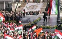 Orbán: keresztény kultúra nélkül nem lesz szabad élet Európában, keresztény kultúránk megvédése nélkül elveszítjük Európát, és Európa nem lesz többé az európaiaké