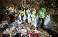 Szombaton is folytatódott a TeSzedd! mozgalom Nagykanizsán