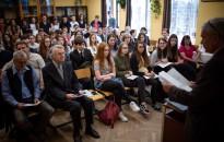 Tudományos diákkonferencia volt a BLG-ben