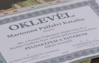 Példaképem a tanárom díjat nyert Martonné Pálfalvi Katalin
