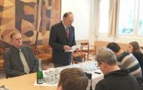 Brenner Árpádot köszöntötte a Nagykanizsai Városvédő Egyesület