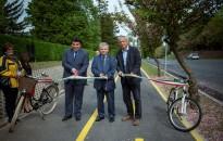 Tovább bővült Zalakaros kerékpárosút hálózata