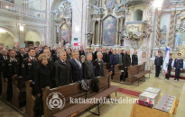 Szent Flórián emléke előtt tisztelegtek a zalai katasztrófavédők
