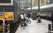 Több mint 10 százalékkal nőtt a kerékpáros utasok száma a vonatokon 2018-ban